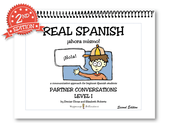 Spanish i real language right away real spanish conversation book fandeluxe Images