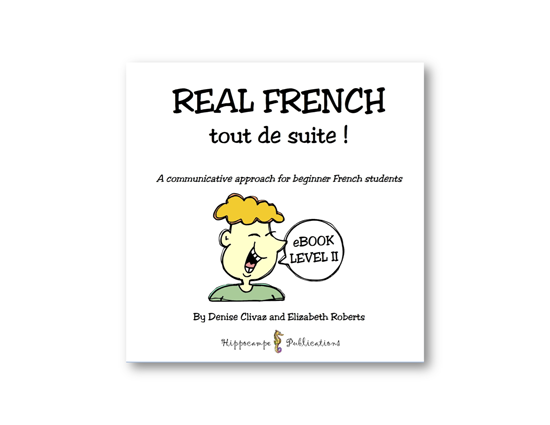 Real French Tout De Suite Partner Conversations EBook Level 2 (Digital Download)