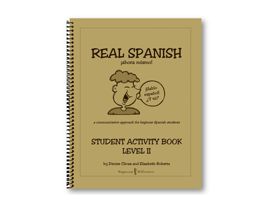 Real Spanish Ahora Mismo Student Activity Book Level 2