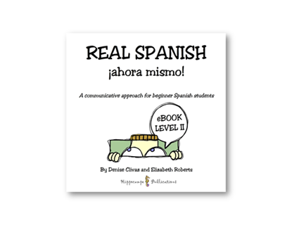 Real Spanish Ahora Mismo Partner Conversations EBook Level 2 (Digital Download)