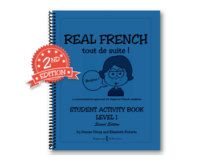 Real French Tout De Suite Student Activity Book Level 1