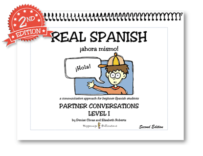 Real Spanish Ahora Mismo Partner Conversations Level 1