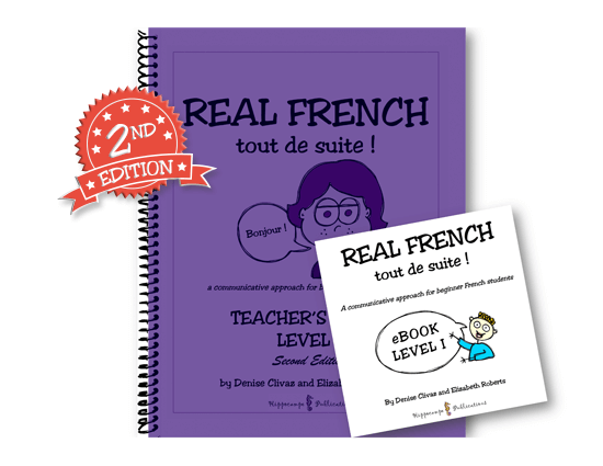 Real French Tout De Suite Level I High School Pack (Teacher's Guide + EBook) (Digital Download)