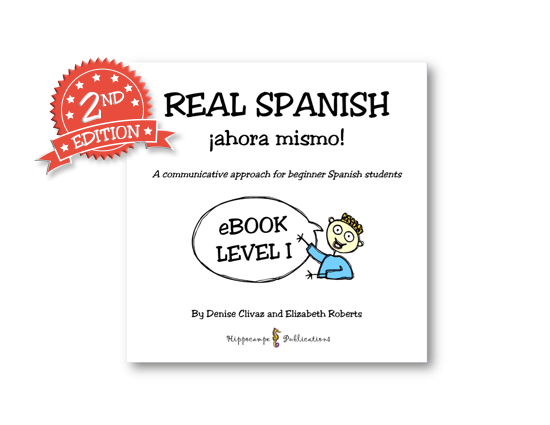 Real Spanish Ahora Mismo Partner Conversations EBook Level 1 (Digital Download)
