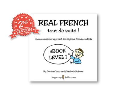 Real French Tout De Suite Partner Conversations EBook Level 1 (Digital Download)