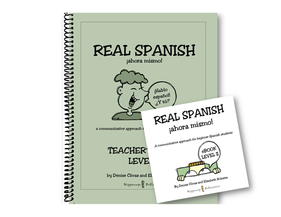 Real Spanish Ahora Mismo Level 2 High School Pack (Teacher's Guide + EBook) (Digital Download)