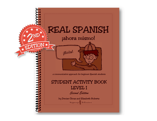 Real Spanish Ahora Mismo Student Activity Book Level 1