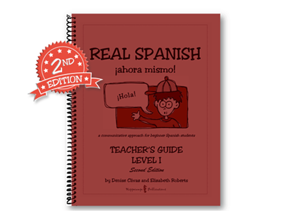 Real Spanish ahora mismo Teacher's Guide Level 1