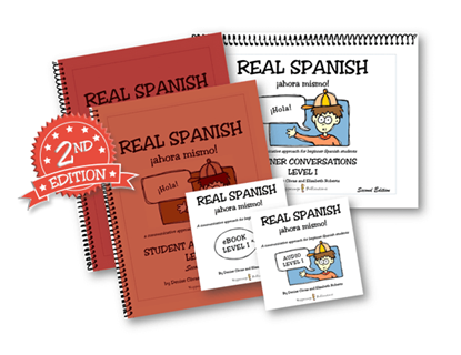Real Spanish Ahora Mismo Teacher Starter Kit Level 1