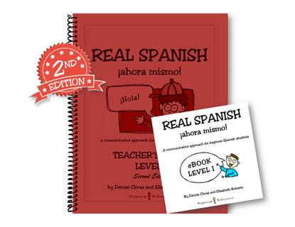 Real Spanish Ahora Mismo Level I High School Pack (Teacher's Guide + EBook) (Digital Download)